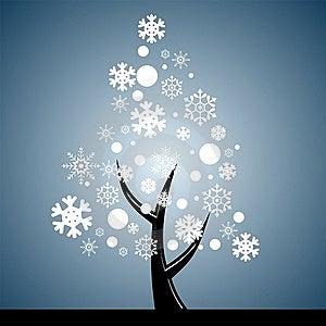 Snow Tree Stock Photo - Image: 21972120