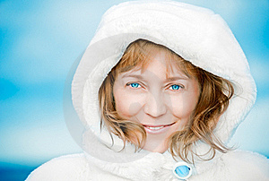 Blue-eyed Woman. Stock Photo - Image: 21976310
