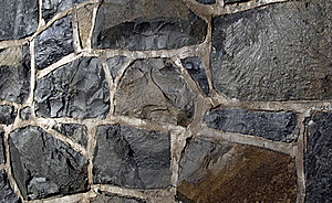 Stone Shapes In Urban Exterior Scene Royalty Free Stock Photos - Image: 21981358