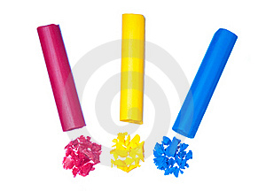 Pastel Stick Stock Images - Image: 21985894