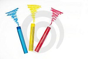 Pastel Stick Royalty Free Stock Images - Image: 21985909