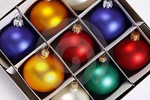 Colorful Christmas Balls Royalty Free Stock Photos - Image: 21987718