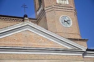 Cross Clock Tower Detail Royalty Free Stock Photo - Image: 21990255