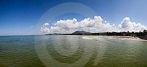 Beautiful Panorama Of Ocean Stock Photography - Image: 21994412