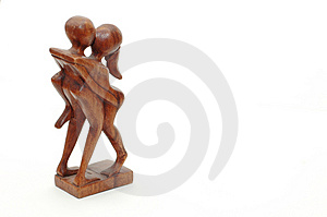Handmade African Fertility Carving Free Stock Photo