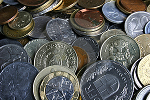 Coins Free Stock Images