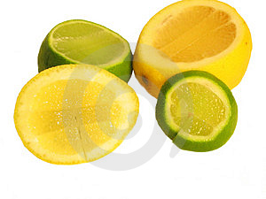 Lemmon And Lime Free Stock Photo