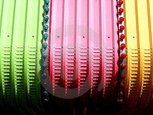 Αφηρημένα μορφή και χρώμα Στοκ φωτογραφία με δικαίωμα ελεύθερης χρήσης