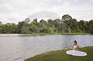 Asian Bride 14 Free Stock Photography