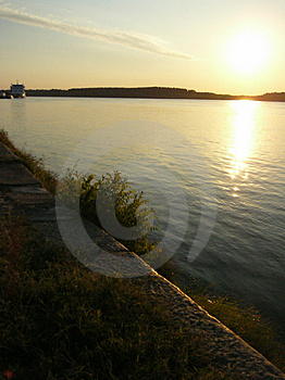 Le Danube Images stock