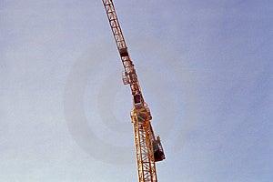 Sky Crane Stock Image