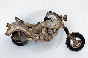 Toy Motorcycle Stock Photo