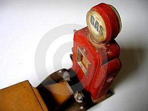 Vendetta di prezzo del gas Fotografie Stock