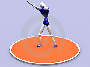 Shot Putter Vol 3 Stock Images