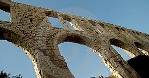 Usine Ruins9 de tuile Image libre de droits