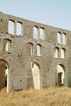 Fabbrica Ruins10 delle mattonelle Immagine Stock
