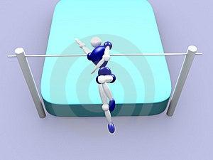High Jumper Vol 2 Stock Image