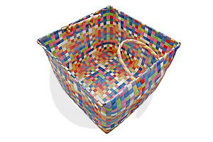 Colorful Basket Free Stock Photos