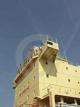 Shipbridge Photographie stock libre de droits
