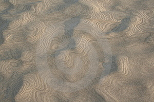 Sand Pattern Free Stock Photo