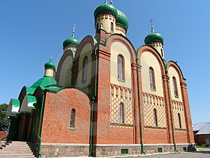 Russian Monastery Free Stock Photography