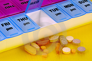 Daily Medication Stock Photography