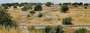 Sicilian landscape3 Arkivbilder
