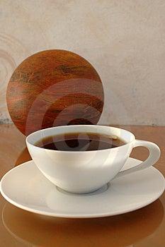Modernt kaffe Royaltyfri Fotografi
