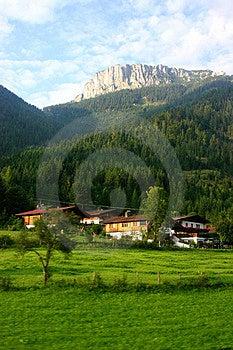 Härliga Alps Fotografering för Bildbyråer