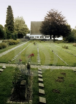 Soldat Cemetery Photos stock