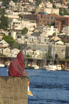 Vida en el borde Foto de archivo libre de regalías