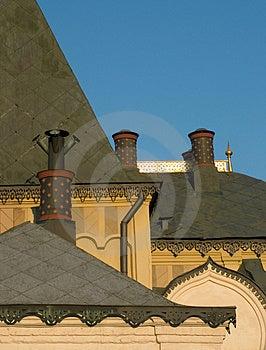 Ortodoxkyrkafragment Arkivfoto
