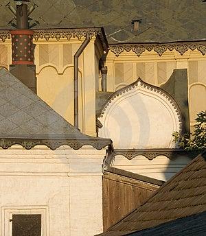 Fragmento ortodoxo de la catedral Imagen de archivo