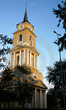 A Belltower Stock Images