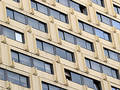Hotel Windows Stock Photography