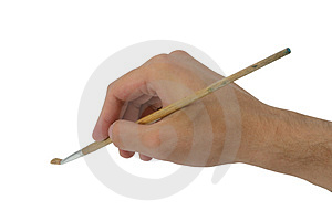 Hand,  tassel Royalty Free Stock Image