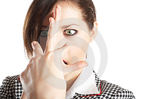 Dodge this!!! Royalty Free Stock Image