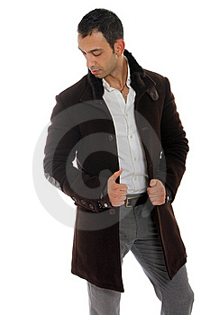 Handsome Guy Wearing A Nice Coat Royalty Free Stock Photo - Image: 22001735
