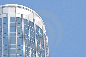 Blue Sky And Glass Building Stock Photography - Image: 22002342