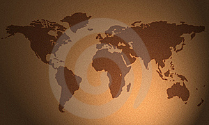 Flurry Map Royalty Free Stock Photography - Image: 22002637