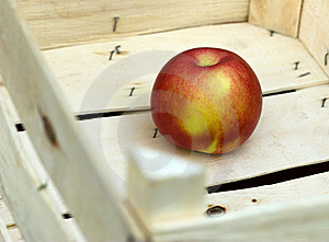 Successful Sale Of Fruit - Apple In Crate Stock Photo - Image: 22004690
