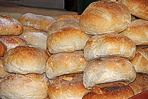 Bread Loaves. Royalty Free Stock Photography - Image: 22005517