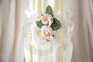 Close Up Romance Candle Stock Images - Image: 22008294