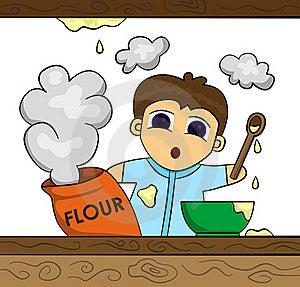 Flour Stock Image - Image: 22008681