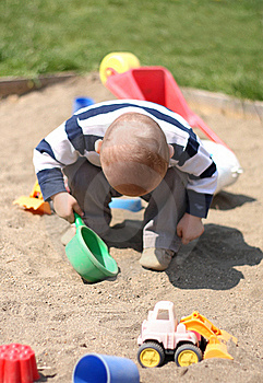 Baby Boy Playing Stock Images - Image: 22013374