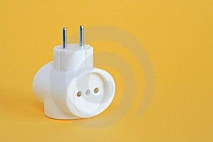 Multiple Socket Outlet Stock Image - Image: 22020671