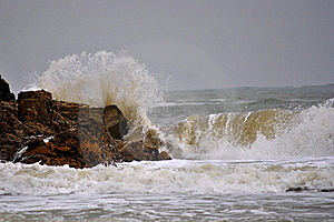 Storm Of The Sea Stock Photos - Image: 22026563