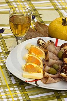 Mediterranean Meal Royalty Free Stock Photos - Image: 22029018