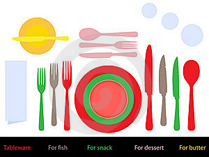 Place Setting Royalty Free Stock Photo - Image: 22033575