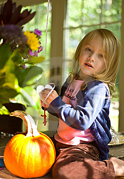 Preparing For Halloween Stock Photo - Image: 22040350
